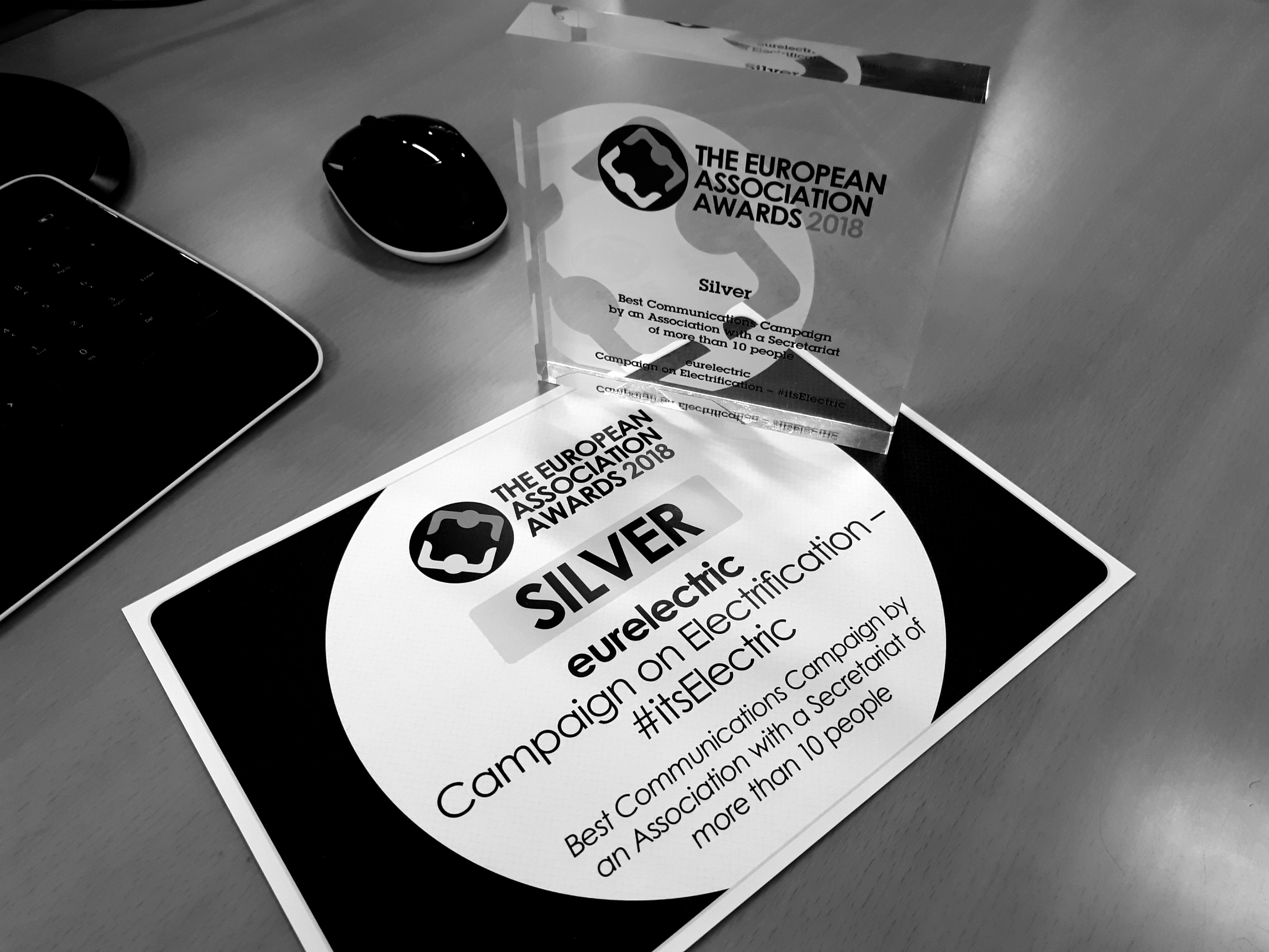 #itsElectric wins Silver Award