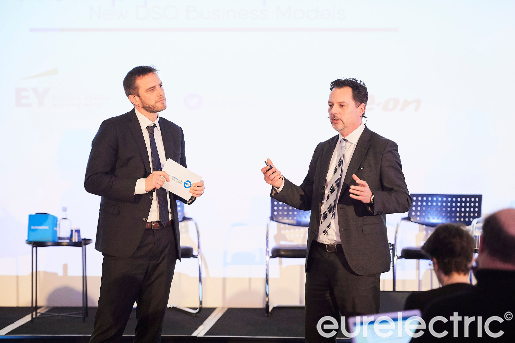 DSO 2.0: Two Smart Examples Bringing Visions to National and European Reality (In the photo: Kristian Ruby & Markus Merkel)